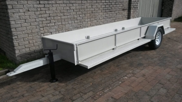 3Bin Trailer with Deck and Sides